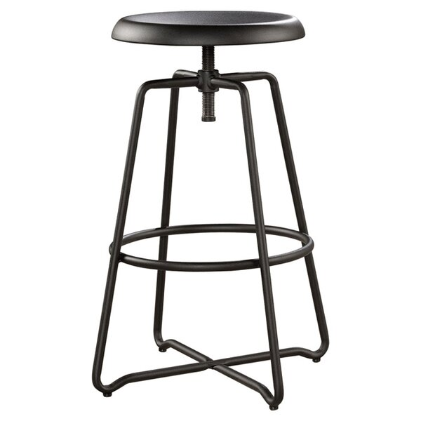 Chappel Adjustable Height Swivel Bar Stool by Trent Austin Design
