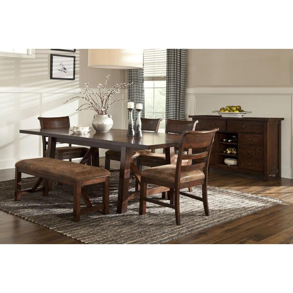 Alexandria 7 Piece Dining Set by Loon Peak