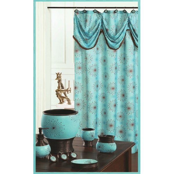 Dante Decorative Shower Curtain by Daniels Bath