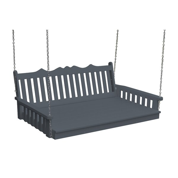 Nettie Royal English Porch Swing by Red Barrel Studio