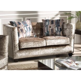 Fulbright Chesterfield Loveseat by Everly Quinn
