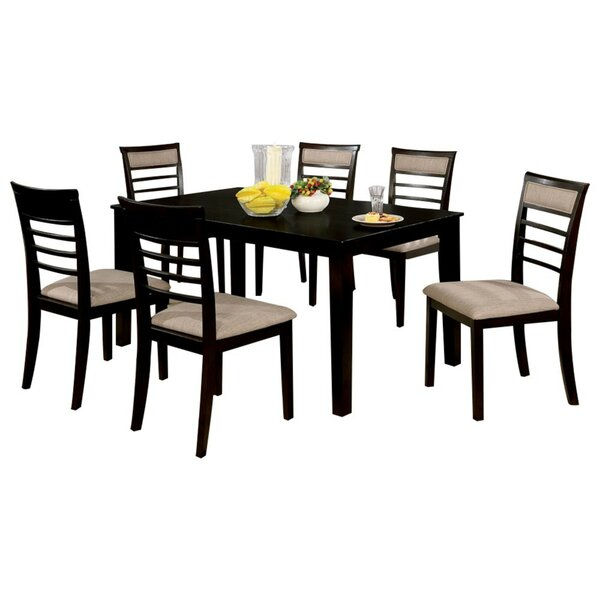 Harnish Wooden 7 Piece Counter Height Dining Table Set by Red Barrel Studio