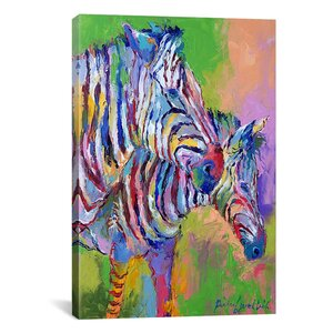 'Zebra' Graphic Art Print by East Urban Home