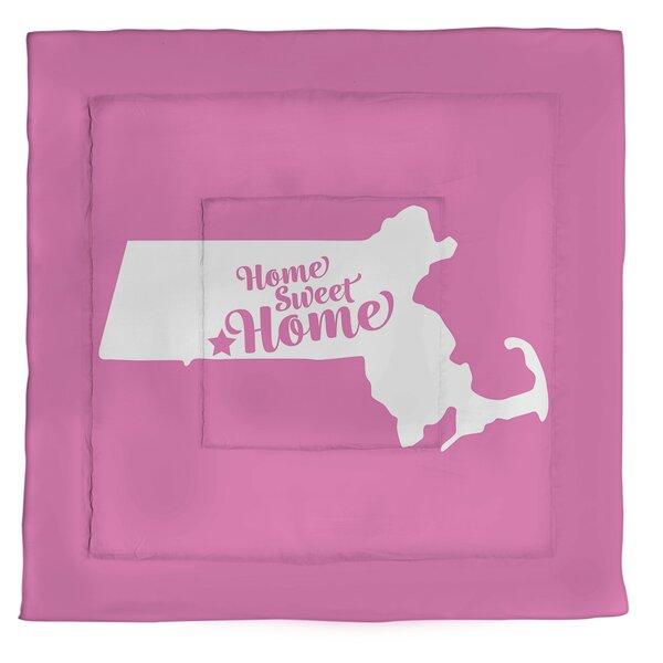 Home Sweet Springfield Ma Single Reversible Comforter