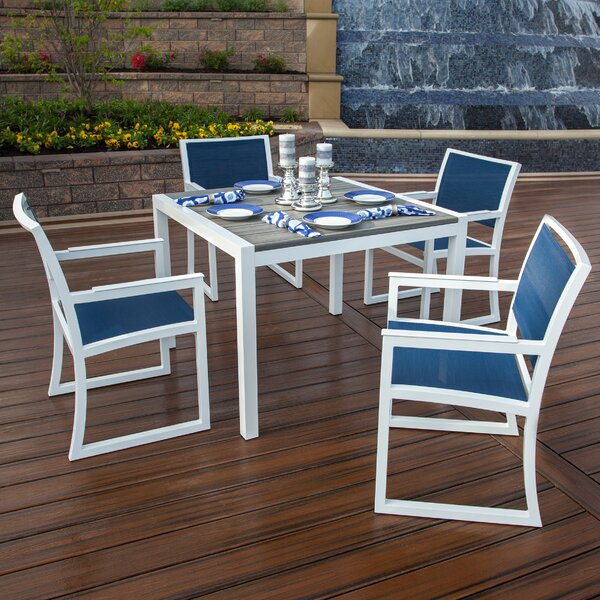 Parsons 6 Piece Dining Set by Trex Outdoor