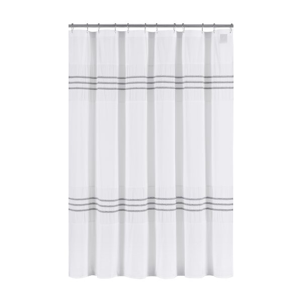 Blaine Cotton Shower Curtain by Highland Dunes