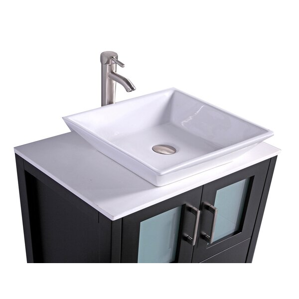 Preciado Modern 24 Single Bathroom Vanity Set by Orren Ellis