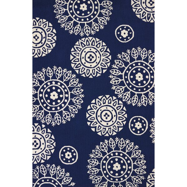 Atrium Hand-Woven Navy Indoor/Outdoor Area Rug by United Weavers of America
