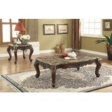 Rockmart Scalloped Living Room 2 Piece Coffee Table Set by Fleur De Lis Living