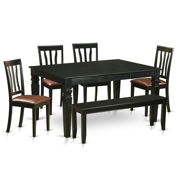Sorrentino 6 Piece Dining Set by Charlton Home Charlton Home
