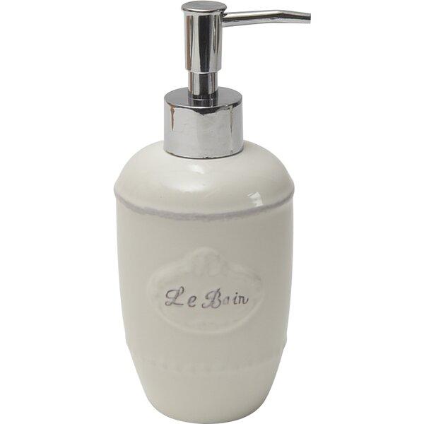 Le Bain Stoneware Bath Soap Dispenser by Evideco