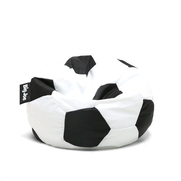Big Joe Soccer Ball Bean Bag Chair by Comfort Research