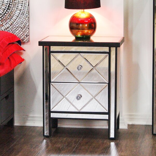 Lucretia End Table With Storage by House of Hampton