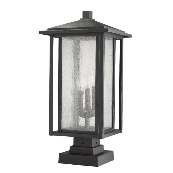 Hungate 3-Light Outdoor Pier Mount Light by Bloomsbury Market
