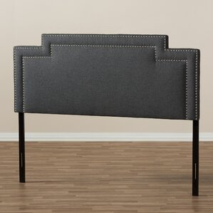 Carruthers Upholstery Panel Headboard by Charlton Home