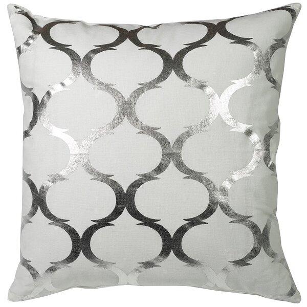 Urban Loft Woven Foil Throw Pillow by Westex