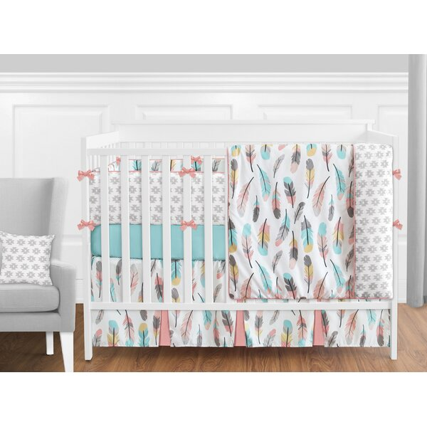 Feather 9 Piece Crib Bedding Set by Sweet Jojo Designs