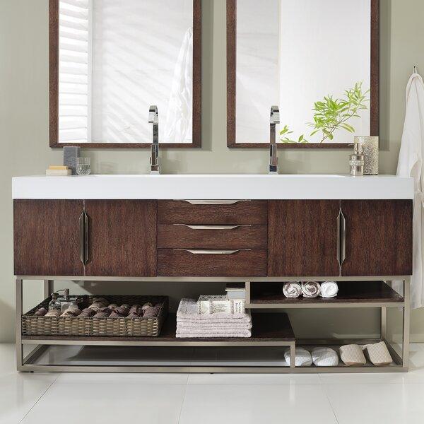 Hulett 73 Single Bathroom Vanity Set by Brayden Studio