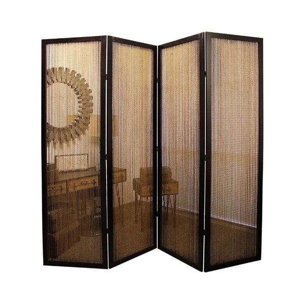 Lahaina 4 Panel Room Divider by Screen Gems