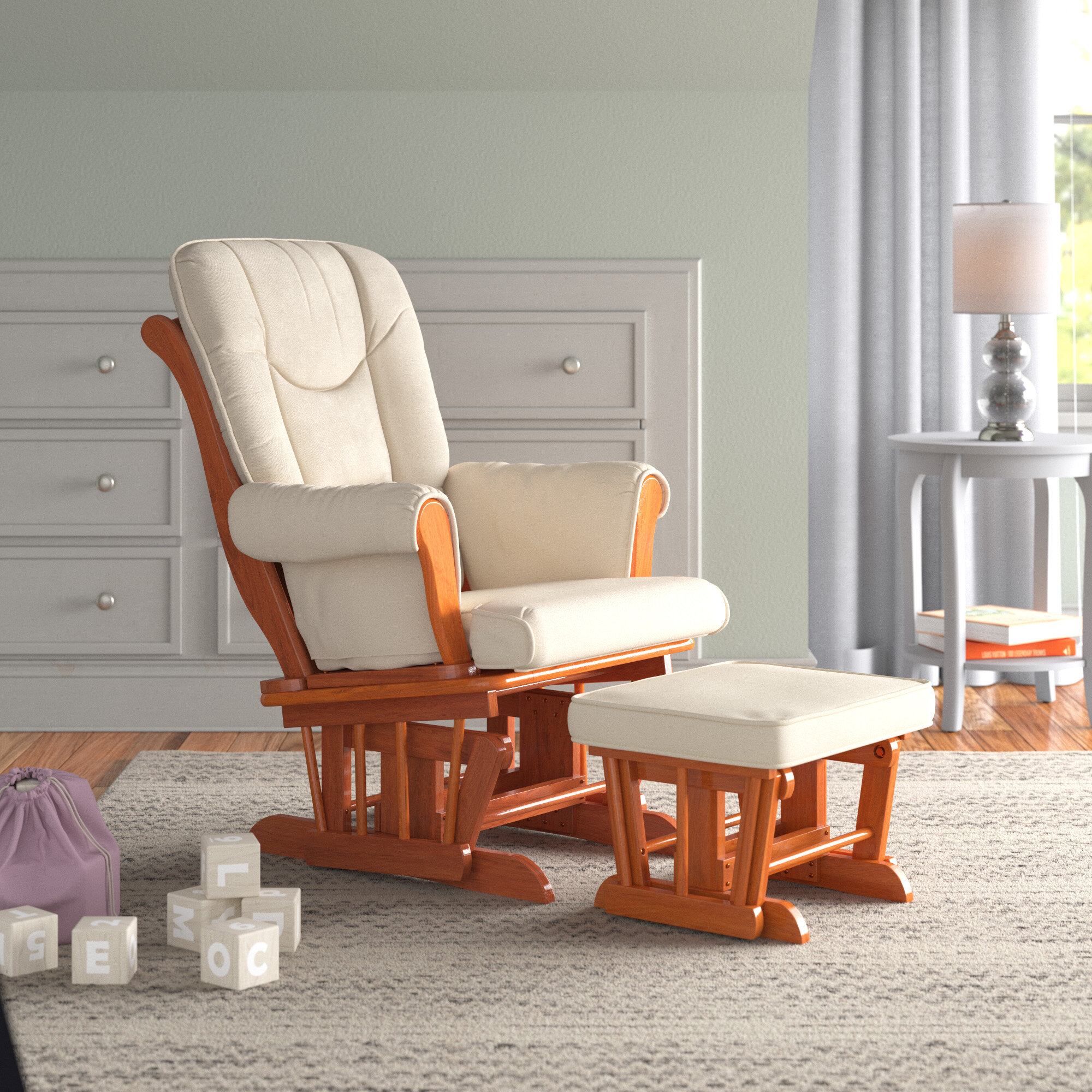 Picture of: Chair Ottoman Sets Nursery Gliders Rockers Recliners You Ll Love In 2020 Wayfair