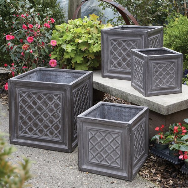 Valenzano 4-Piece Composite Planter Box Set by Darby Home Co