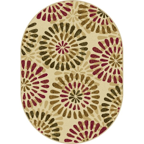 Strope Ivory Area Rug by Red Barrel Studio