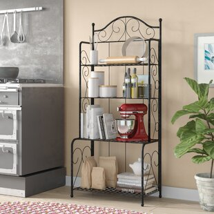 Find Snowberry Wrought Iron Baker's Rack Compare prices
