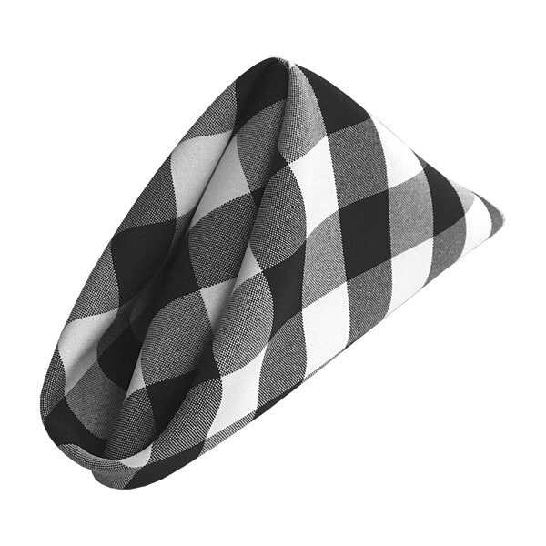 Huertas Checkered Napkin (Set of 10) by August Gro