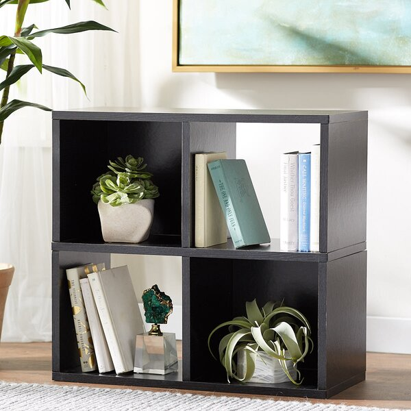 Kori Quad Cube Bookcase by Ebern Designs