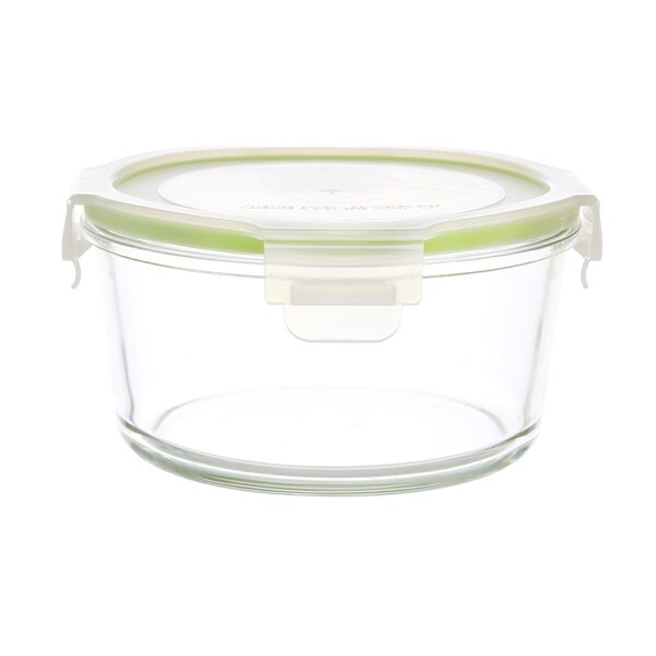 GoGreen Glassworkds Round Oven Safe 13 Oz. Food Storage Container by Kinetic
