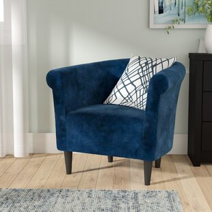 Best Reviews Liam Barrel Chair By Zipcode Design