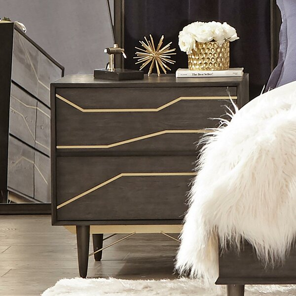 Granjeno 2 Drawer Nightstand by Brayden Studio