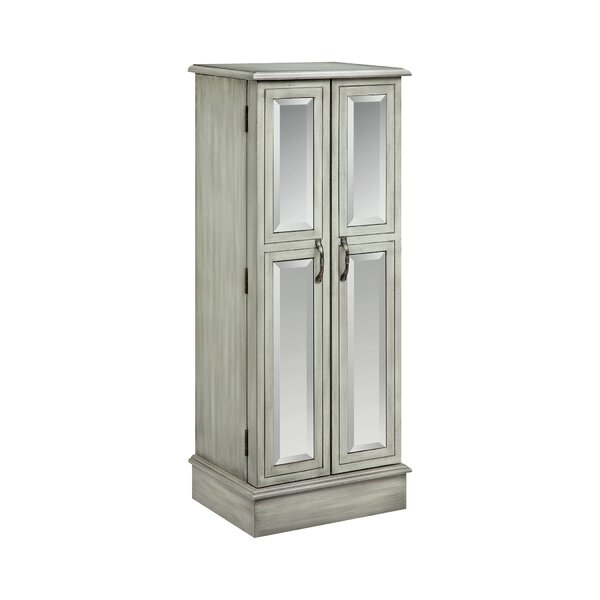 Backsten Jewelry Armoire With Mirror By Darby Home Co by Darby Home Co Best Choices