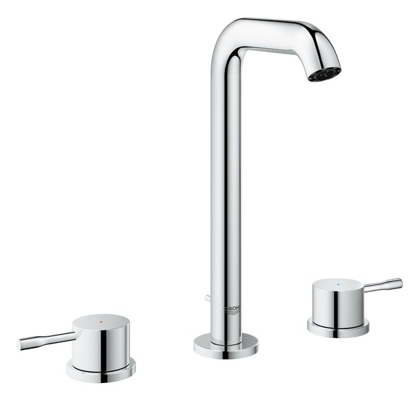 Essence Double Handle Deck Mounted Tub Only Faucet by Grohe
