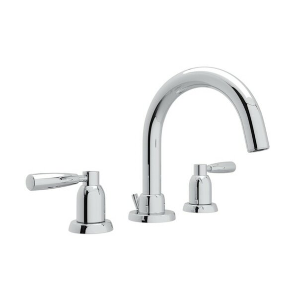 Holborn Tubular C-Spout Widespread Bathroom Faucet