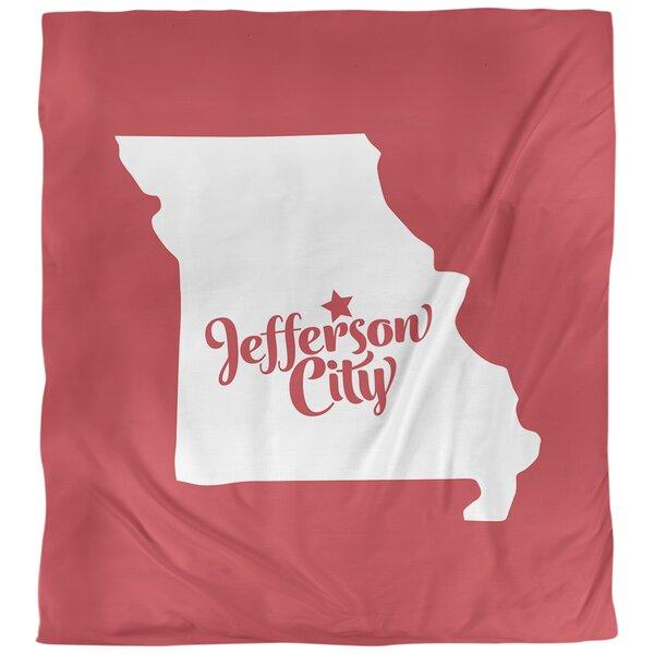 Missouri Jefferson City Single Duvet Cover