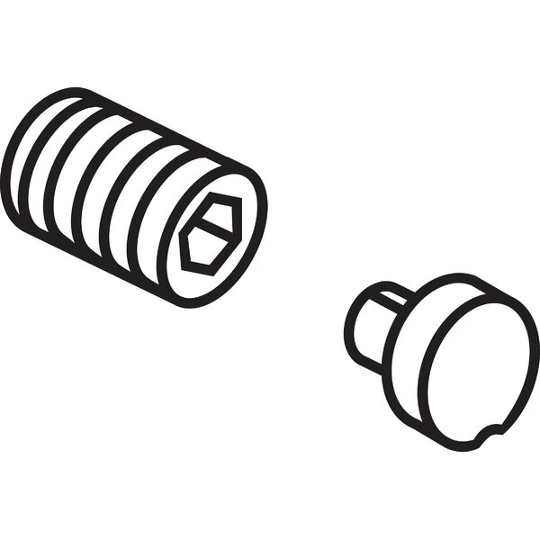 Addison Button Cover and Screw (Set of 2) by Delta