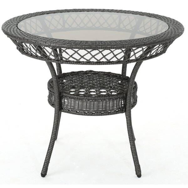 Dionysus Wicker Table by Ivy Bronx