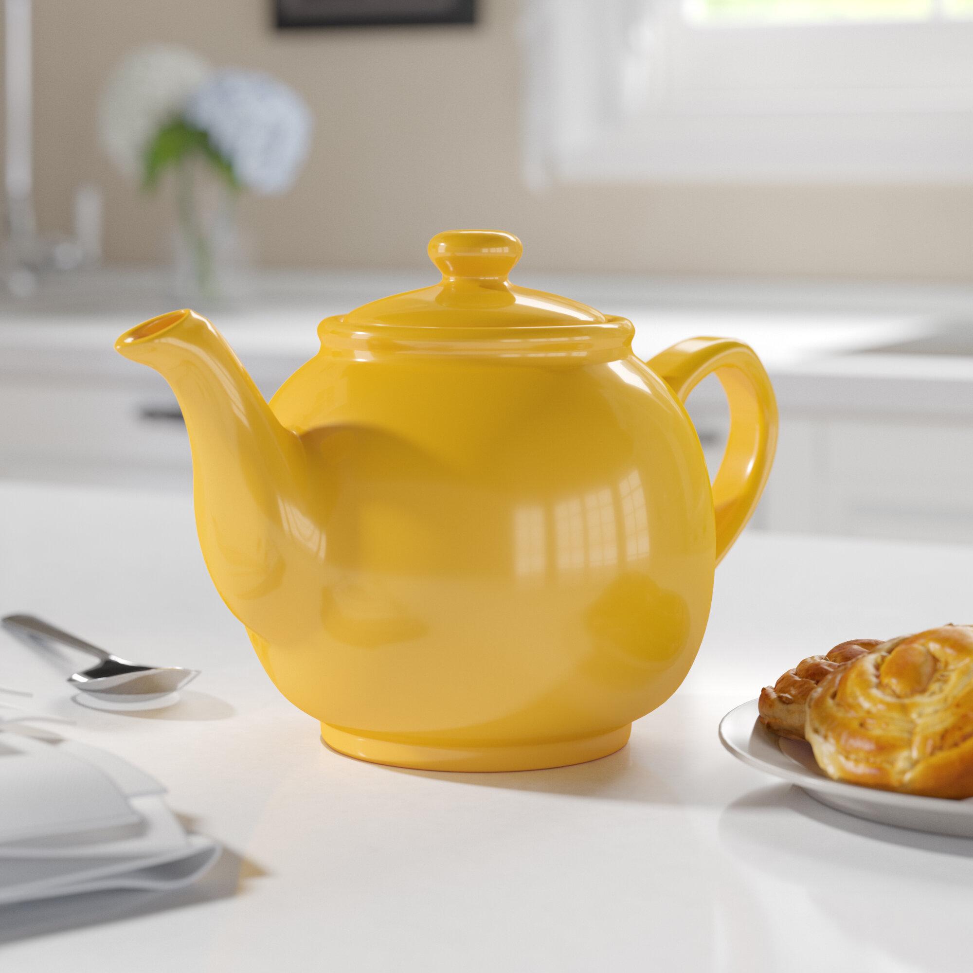 Alcott Hill Carnot 1.7-qt. Peter Sadler Teapot & Reviews   Wayfair