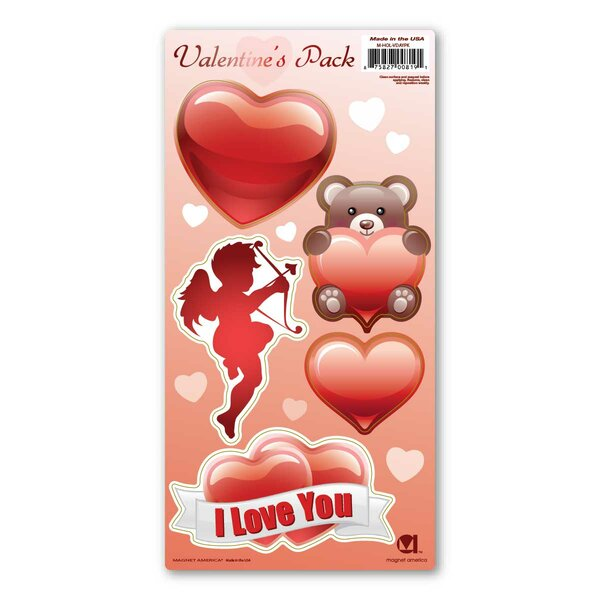 Valentine's Day Pack Magnet by The Holiday Aisle