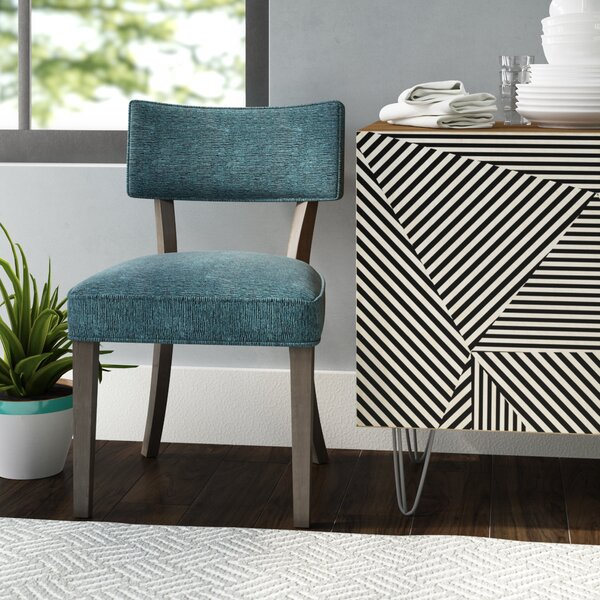 Bristol Upholstered Dining Chair by Wrought Studio