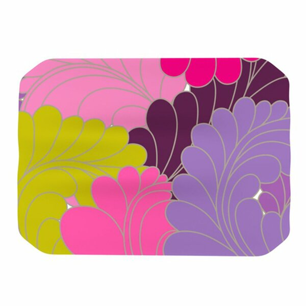 Moroccan Leaves Placemat by KESS InHouse