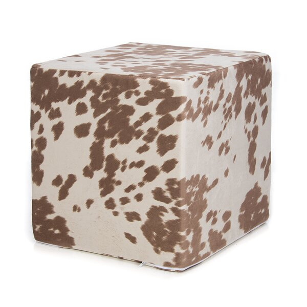 Darrion Decorative Cube Ottoman by Millwood Pines