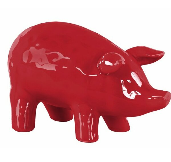 Merrimac Ceramic Standing Pig Figurine by Ophelia & Co.