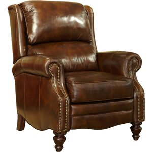 Leather Recliner by Hooker..