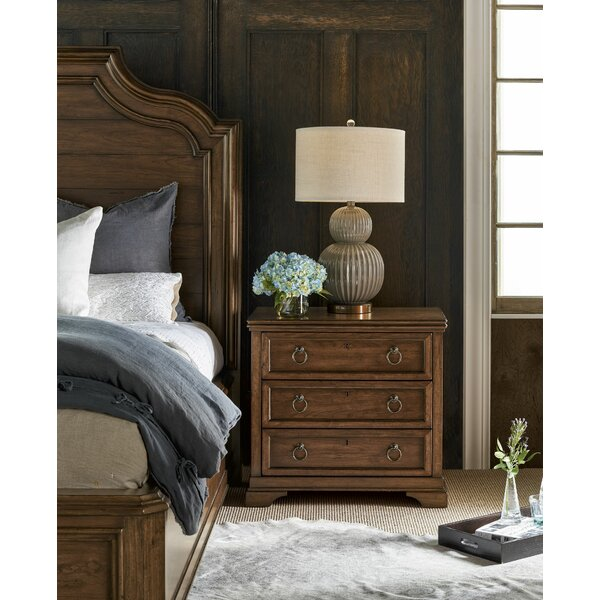 3 Drawer Nightstand By Canora Grey