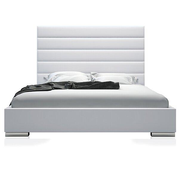 Upholstered Storage Platform Bed by UrbanMod
