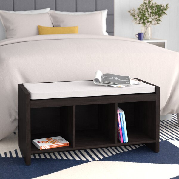 Claudia Storage Bench With Cushion By Zipcode Design 2019 Sale