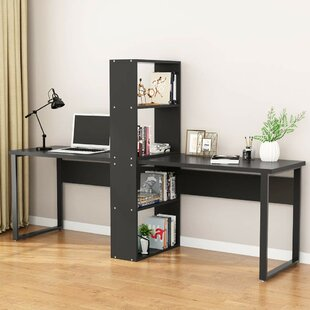 Check Prices Cargill Computer Desk with Shelf By Ebern Designs