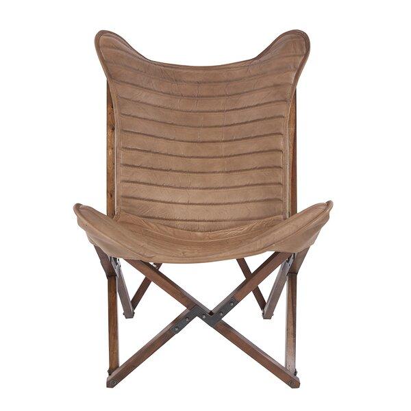 Miraculous Vannatta Leather Sling Lounge Chair Uwap Interior Chair Design Uwaporg